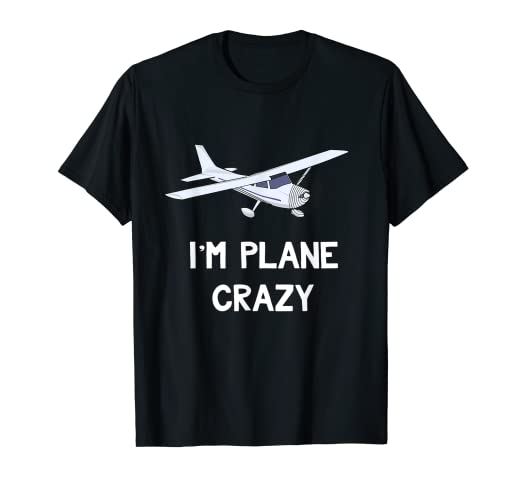 8b738782ab Amazon.com: Funny Airplane T-Shirt Plane Crazy Gifts for Airplane ...