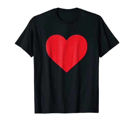 5297f9c01d63 Amazon.com  Short Sleeve Red Heart Valentine s Day Shirt Women Girls ...
