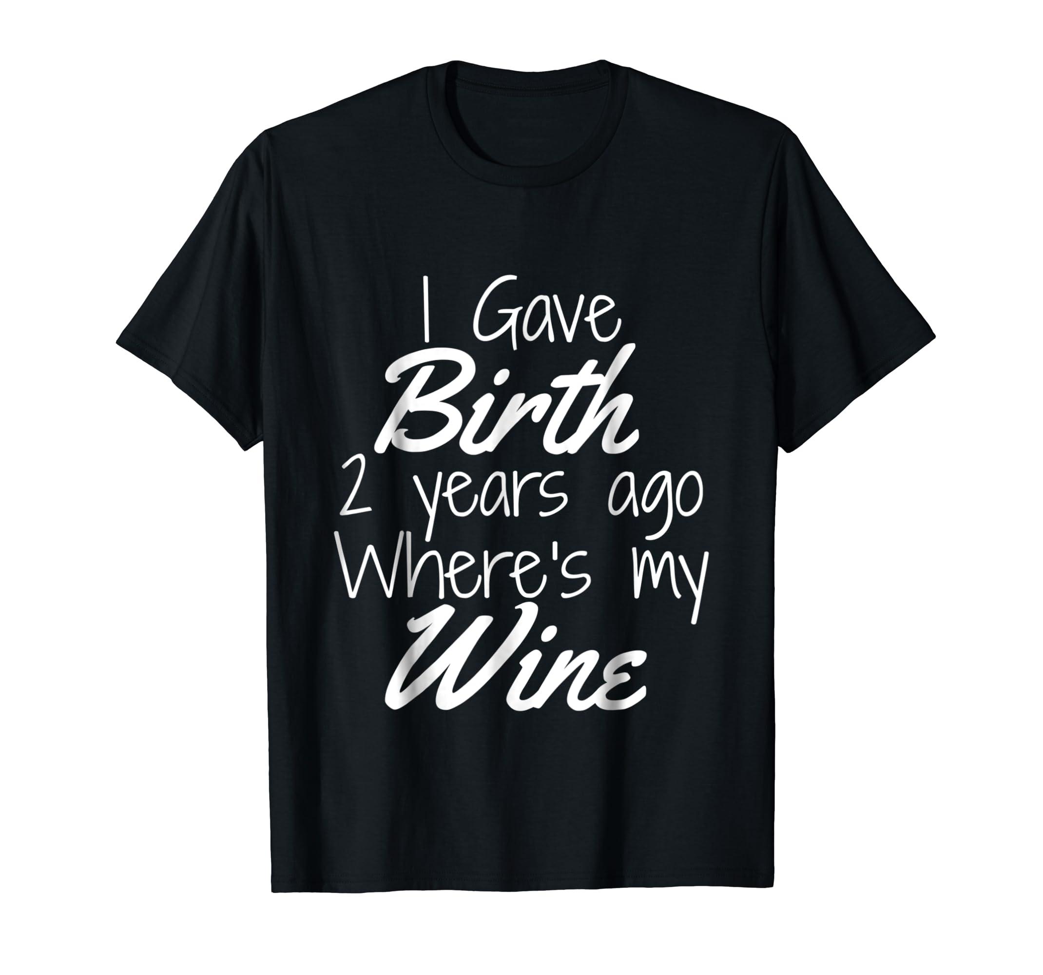 Amazon Mom Wine Shirt Birthday Girl Boy 2nd 2 Year Old Party Clothing