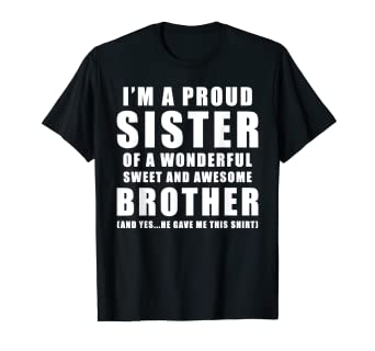 Amazon Funny Gift For Sister From Brother