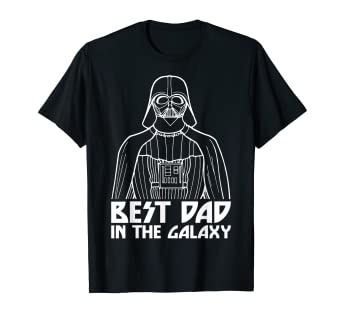 08d599cc Image Unavailable. Image not available for. Color: Star Wars Darth Vader  Best Dad In Galaxy ...