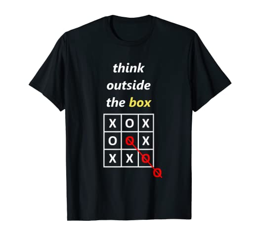 1bb92dd22 Image Unavailable. Image not available for. Color: Think outside the box t  shirt