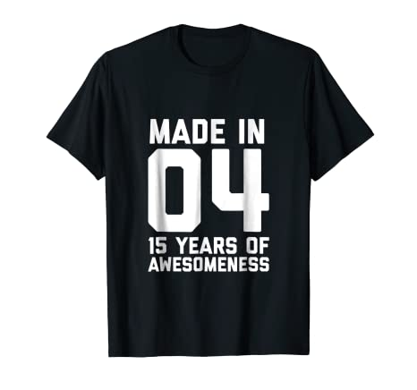 15th Birthday Shirt Girls 15 Year Old Daughter Gift Fifteen