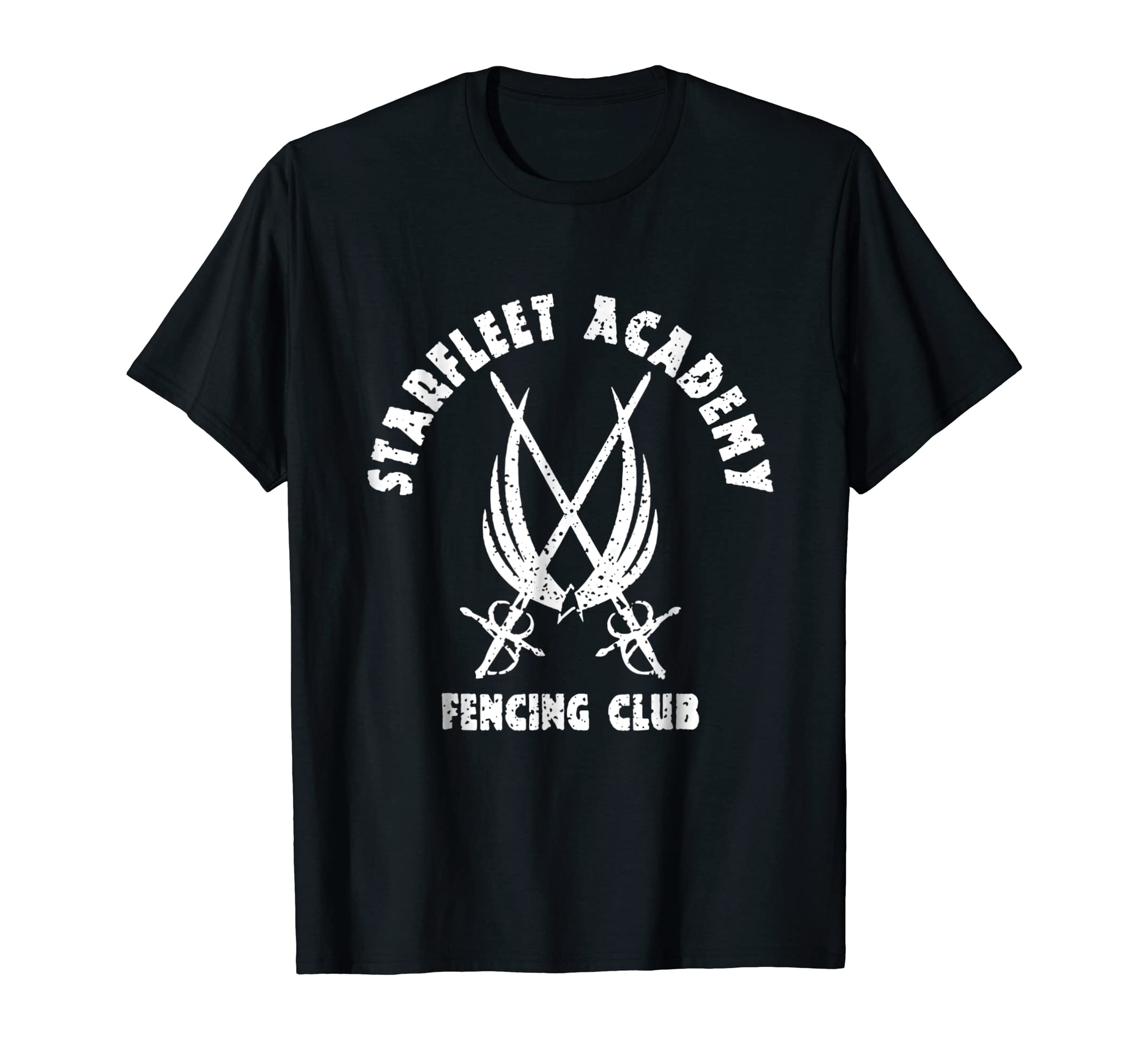Amazoncom Fence Humor Shirt Starfleet Academy Fencing Club Clothing