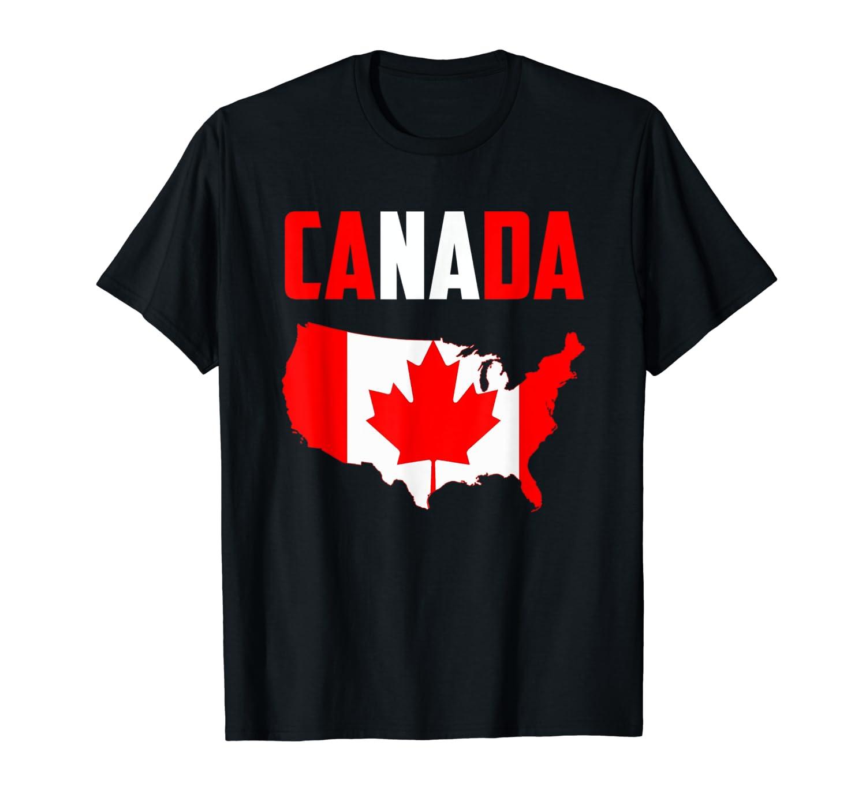 Vintage Canada Flag Canada Day Shirts