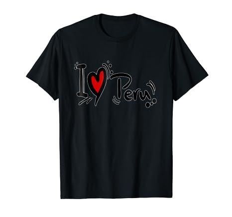 Amazon.com: I LOVE PERU, TE AMO PERU: Clothing