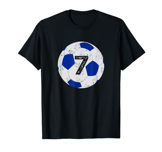 ccf3ba24102 Image Unavailable. Image not available for. Color: Soccer Birthday Shirt ...