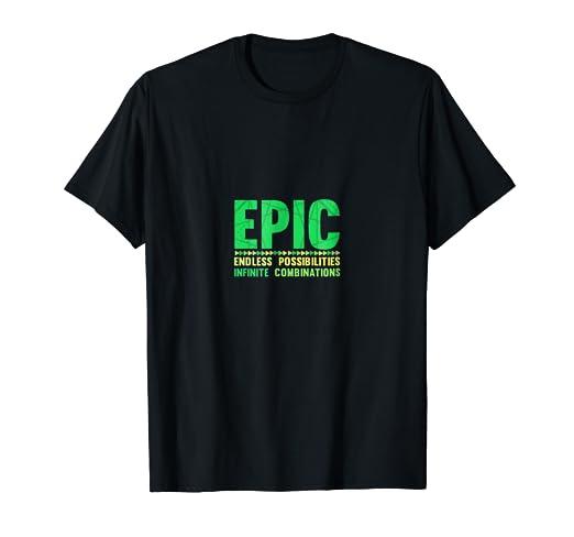92404e35dd10 Amazon.com: E.P.I.C. Endless Possibilities Infinite Combination T ...
