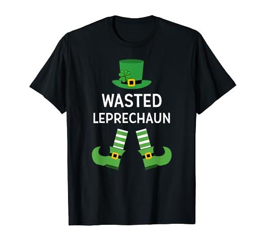 techniques modernes vaste gamme de nouvelles photos Amazon.com: Wasted Leprechaun Partying Drunk St Patricks Day ...