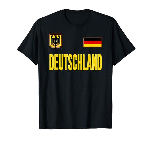 c9a5e845500 Amazon.com  Germany T-shirt German Flag Deutschland Souvenir Gift ...