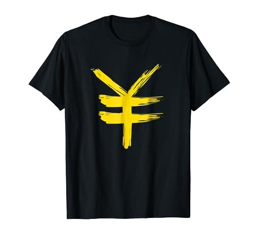 Amazon Japanese Yen Currency Money Symbol T Shirt Japan Tees