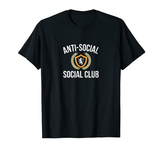 0e542b4ef46c Image Unavailable. Image not available for. Color  Anti-Social - Social Club  - T-shirt