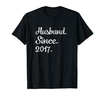 Amazon.com: Mens First Wedding Anniversary Gifts - Husband Since ...