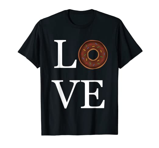 9af79a1c Image Unavailable. Image not available for. Color: Love Donut Shirt ...