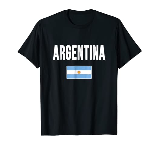 Argentina T-shirt Argentinian Flag