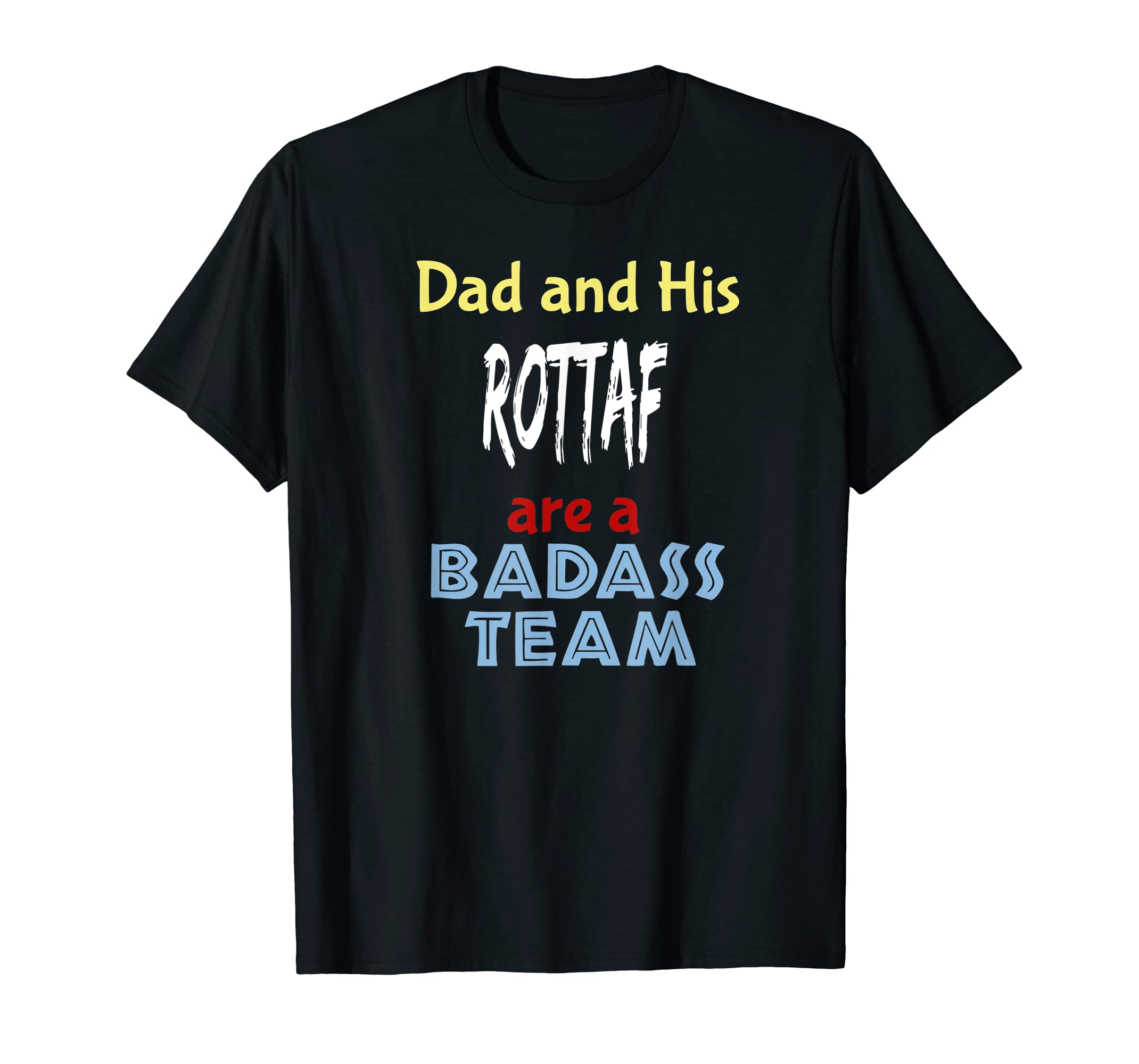 Mens Rottaf Dog Shirt Love Rottweiler + Afghan Hound = T-Shirt-Men's T-Shirt-Black