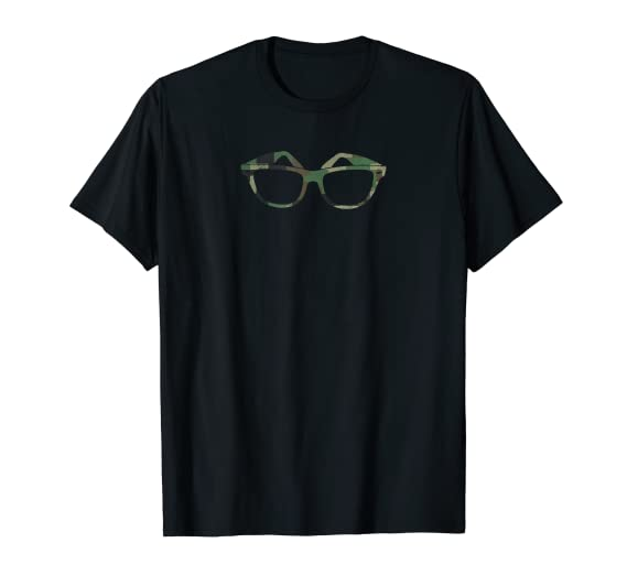 Camouflage Classic American Sunglasses Graphic Tee Shirt