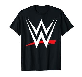 c4588c5a4 Amazon.com: WWE Logo Graphic T-Shirt: Clothing