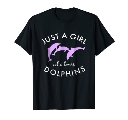 92697456 Image Unavailable. Image not available for. Color: Pink Dolphin Shirt ...