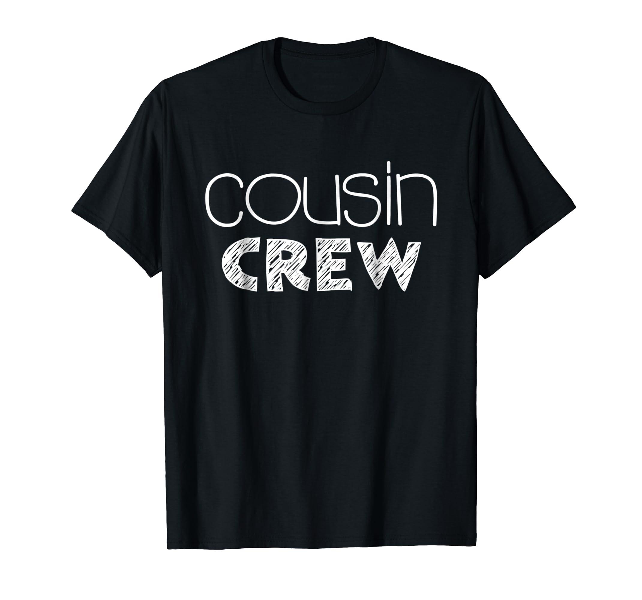 Cousin Crew T-Shirt-Men's T-Shirt-Black