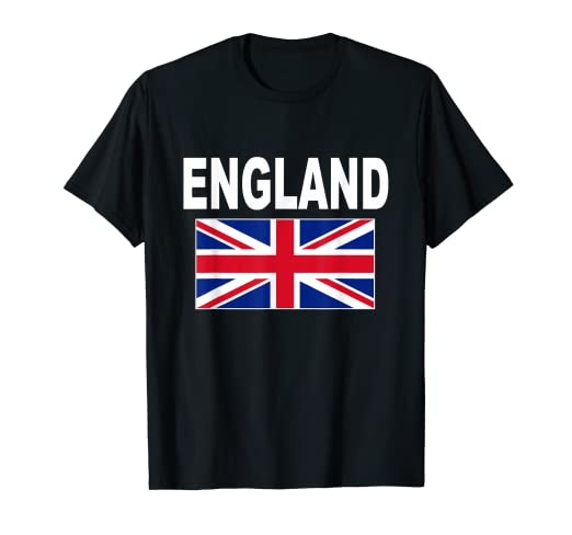 7cb26c21 Image Unavailable. Image not available for. Color: England Flag T-Shirt ...
