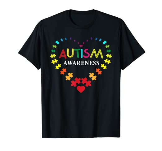 12627255f Image Unavailable. Image not available for. Color: World Autism Awareness 2  April 2019 Shirt Autism Cute Shirt