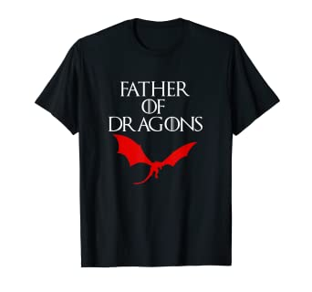 2c591740 Image Unavailable. Image not available for. Color: Mens FATHER OF DRAGONS T  SHIRT ...