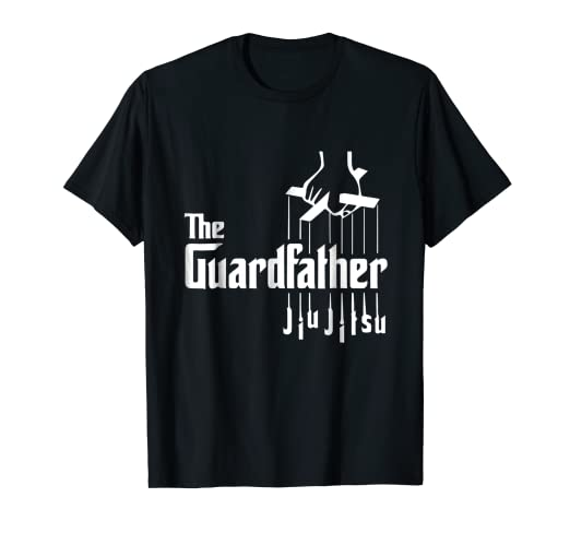 b8d9fcd1 Image Unavailable. Image not available for. Color: The Guardfather Funny  Jiu Jitsu T-Shirt ...