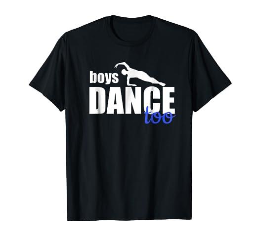 5d127d496f29 Image Unavailable. Image not available for. Color: Boys Dance Too Ballet  Dancer T-Shirt for Men ...
