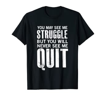 6ae21a263 Amazon.com: Motivational Shirts, Workout Shirts With Sayings: Clothing