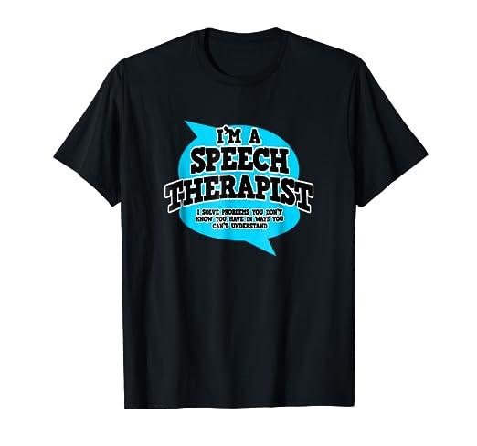 de028cec0d0d Amazon.com  Speech Pathology T Shirts - Funny Profession Tee Shirt ...