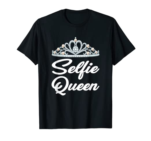 5b5107d69 Image Unavailable. Image not available for. Color: SELFIE QUEEN T SHIRT ...