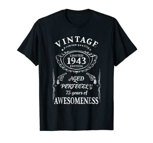Image Unavailable Not Available For Color Funny 75 Year Old Joke Shirt 75th Birthday Gift Idea