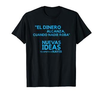 Camiseta de Nuevas Ideas Nayib Bukele