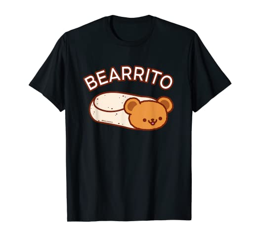 efd9669b Amazon.com: Cute T-Shirt - BEARRITO - Teddy Bear Burrito: Clothing