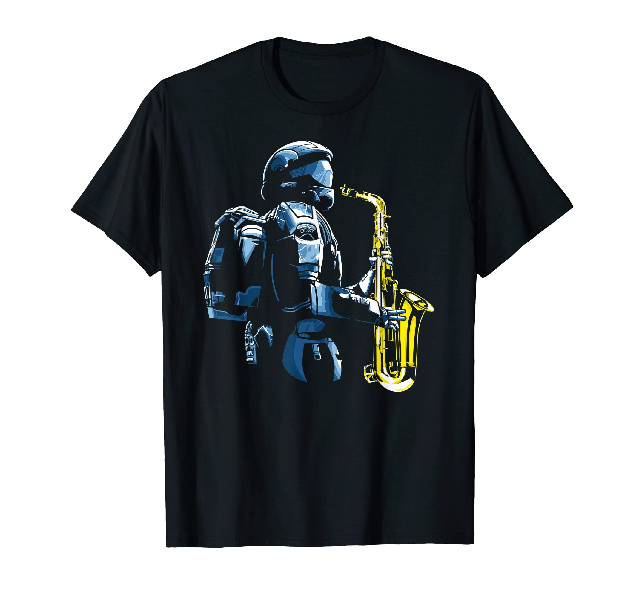Halo ODST Jazz T-Shirt-Men's T-Shirt-Black