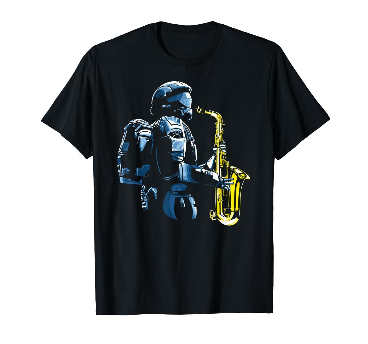 Halo ODST Jazz T-Shirt-Men's T-Shirt-Black