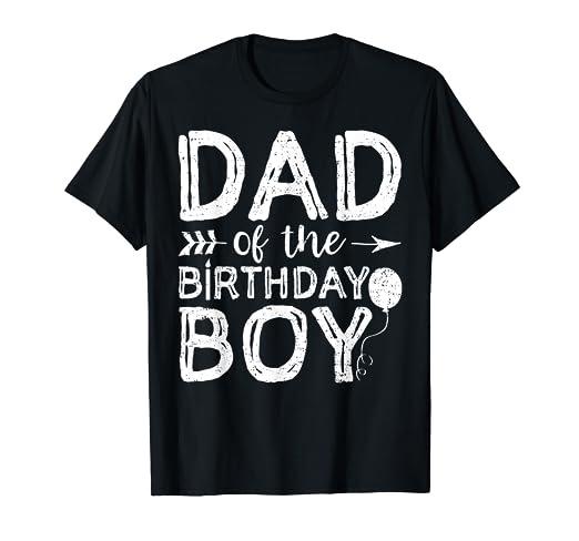 eeeddaba2 Amazon.com: Mens Dad Of The Birthday Boy Shirt Dad And Son Matching Birthday:  Clothing