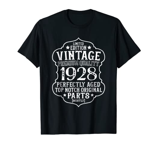 Image Unavailable Not Available For Color Vintage 1928 90th Birthday Shirt
