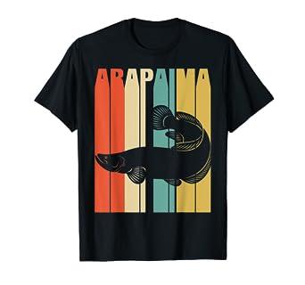 60be6efd Amazon.com: Arapaima Classic Vintage Retro T-shirts. Funny Gift ...