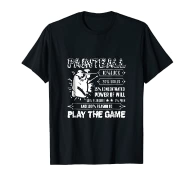 Review Funny Paintball Shirt