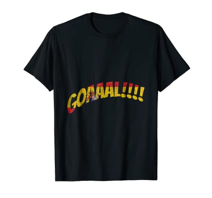 Goal Spain National team TEE Shirt for world futbol fans