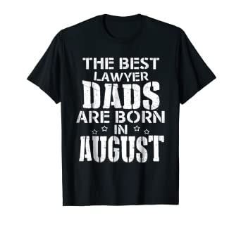 Amazon Birthday Gift For Lawyer The Best Dad Funny Tshirt Clothing