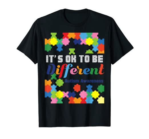 3f6b02927 Image Unavailable. Image not available for. Color: Cute Cool Funny Autism  Gift T Shirts for Men Boys ...