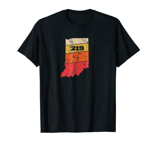 219 Area Code Map Amazon.com: Indiana Retro Local Map Heart Area Code 219 T Shirt  219 Area Code Map