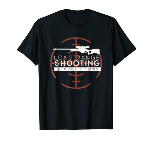 04ae1f3ca8 Image Unavailable. Image not available for. Color  Long Range Shooting T-Shirt  Target ...