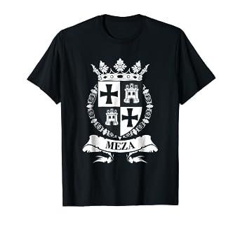 Amazoncom Meza Family Crest Faux Coat Of Arms Shield T Shirt Clothing