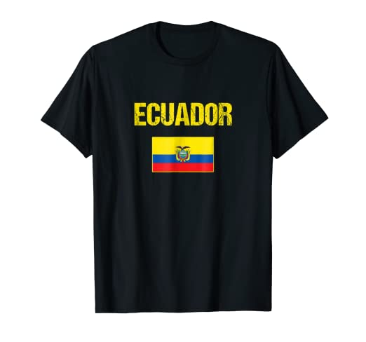 Ecuador T-shirt Ecuadorian Flag Shirts Men/Women/Youth/Kids