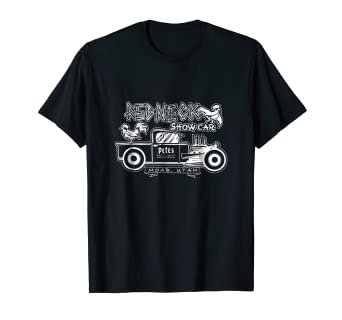 Amazoncom Redneck Show Car Moab Utah Official Shirt Clothing - Moab utah car show
