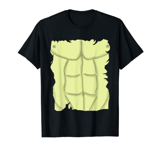 d36cdc711 Amazon.com: Muscle Bodybuilder Six Pack Abs Ripped T-Shirt Men Boys ...